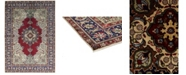 "Timeless Rug Designs CLOSEOUT! One of a Kind OOAK593 Orange 6'6"" x 10'6"" Area Rug"