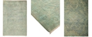"""Timeless Rug Designs CLOSEOUT! One of a Kind OOAK818 Green 3'10"""" x 5'9"""" Area Rug"""