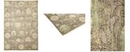 "Timeless Rug Designs CLOSEOUT! One of a Kind OOAK1317 Hazelnut 4'4"" x 6'3"" Area Rug"