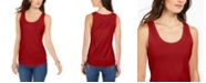 Charter Club Supima® Cotton Scoop-Neck Tank Top, Created for Macy's