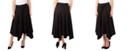 NY Collection Petite Tie-Front Knit Skirt