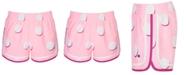 Champion Little Girls Varsity Dot-Print Shorts