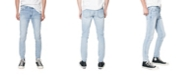 Zeegeewhy Men's Destructed Skinny Fit Jeans