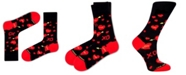 Love Sock Company Women's Organic Cotton Socks with Xoxo Design