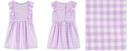 Carter's Toddler Girls Cotton Gingham Ruffle Dress