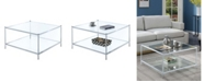 Convenience Concepts Royal Crest Square Coffee Table