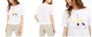 Calvin Klein Jeans Logo-Print Crewneck T-Shirt