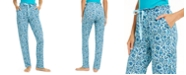 Vera Bradley Allegra Printed Paper-Bag-Waist Pajama Pants