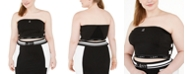 Lala Anthony Trendy Plus Size Stretch Jersey Tube Top