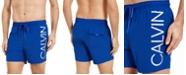 "Calvin Klein Men's Euro Volley Logo 16 3/4"" Swim Trunks"