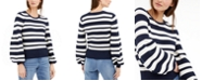 INC International Concepts INC Striped Ottoman Sweater, Created for Macy's