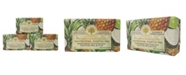 Wavertree & London Pineapple, Coconut and Lime Soap with Pack of 3, Each 7 oz