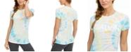 Calvin Klein Logo Tie-Dyed T-Shirt