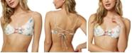 O'Neill Juniors' Batik Floral Strappy Bikini Top