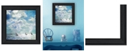 Trendy Decor 4U Trendy Decor 4U Sailing White Waters by Bluebird Barn Group, Ready to hang Framed Print Collection