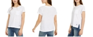 Calvin Klein Jeans Chest-Pocket Cotton T-Shirt