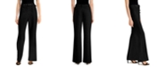 INC International Concepts INC Petite Belted Sailor Wide-Leg Pants, Created for Macy's