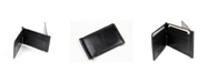 CHAMPS Genuine Leather Bill Fold with Double Money Clip