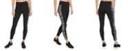DKNY Sport Zebra-Print High-Waist Leggings