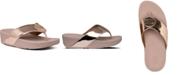 FitFlop Demelza Logo Toe-Thong Sandals