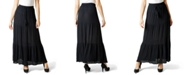 Ultra Flirt Juniors' Tiered Crinkle Maxi Skirt