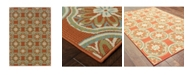 "JHB Design Negril NEG09 Rust 2'5"" x 4'5"" Area Rug"
