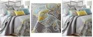 Levtex Cressley Damask Reversible Full/Queen Quilt Set