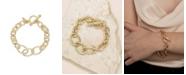 ETTIKA Simple Chain Link Bracelet With toggle