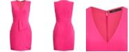 BCBGMAXAZRIA V-Neck Mini Dress