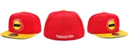 Mitchell & Ness Houston Rockets Wool 2 Tone Fitted Cap