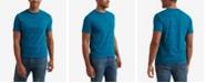 Lucky Brand Men's Short Sleeve Sunset Wave Stripe Crew Neck T-shirt