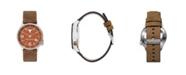 Columbia Men's Canyon Ridge Texas Saddle Leather Watch 45mm