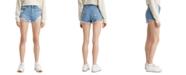 Levi's 501 Original Distressed Denim Shorts