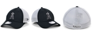 New Era Los Angeles Angels Black White Gradient Trucker 39THIRTY Cap