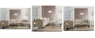 Furniture Marleese Fabric & Leather Sectional Collection, Created for Macy's