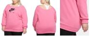Nike Plus Size Logo Print Sweatshirt