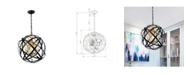 """Home Accessories Kassdin 19"""" 1-Light Indoor Chandelier with Light Kit"""