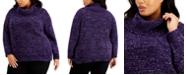 Calvin Klein Plus Size Cowlneck Sweater