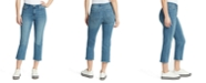 WILLIAM RAST High-Rise Cropped Straight-Leg Jeans