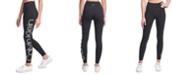 Calvin Klein Jumbo-Logo High-Waist Leggings