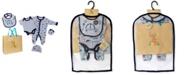 Lily & Jack Baby Boys Transportation Footie 5 Piece Layette Gift Set