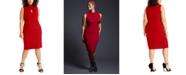 RACHEL Rachel Roy Trendy Plus Size Twisted Sheath Dress