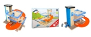 Legler USA Small Foot Wooden Toys Level Parking Garage Complete Playset