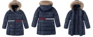 Tommy Hilfiger Big Girls Long Puffer Jacket