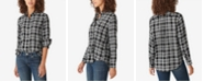 Lucky Brand Relaxed Flannel Plaid Shirt