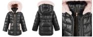 Michael Kors Toddler Girls' Stadium Puffer Jacket With Faux-Fur Trim