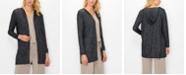 COIN 1804 Women's Cozy Long Sleeve Hoodie Cardigan