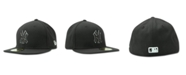 New Era Kids' New York Yankees MLB Black and White Fashion 59FIFTY Cap