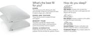 Tommy Hilfiger Corded Classic Down Alternative Pillows, Hypoallergenic SupraLoft™ Fiberfill