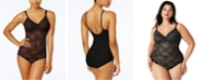 Maidenform Lace Body Briefer M3008